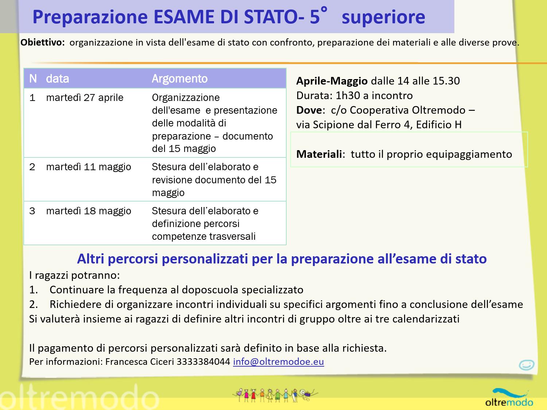 preparazione-esame-superiori-2021
